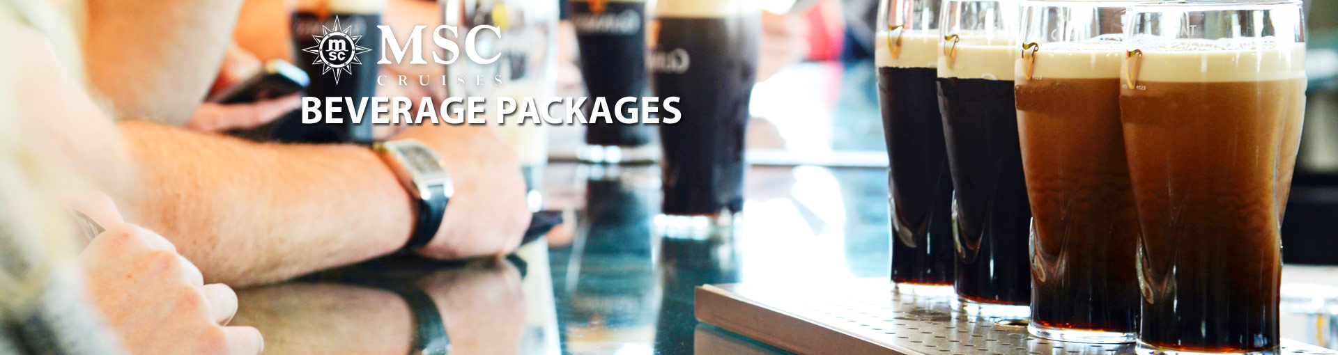 MSC Cruises Drink Packages