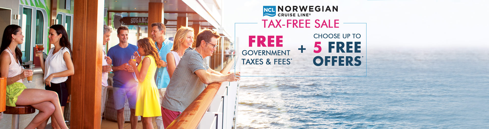 Norwegian Cruise Line: Tax-Free Sale + up to 5 Free Offers