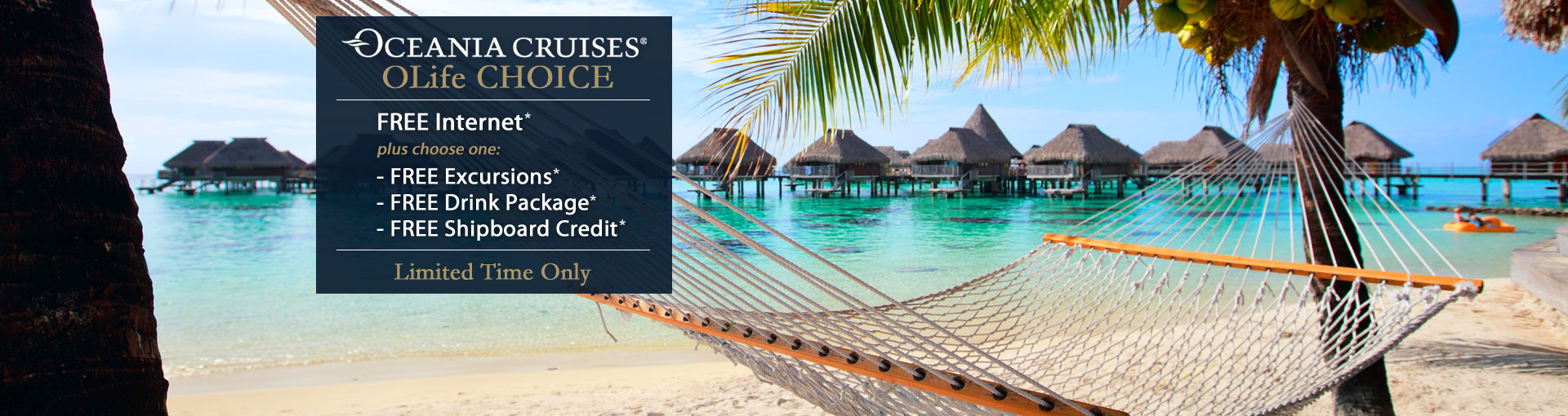 Oceania Cruises - OLife Choice Sale