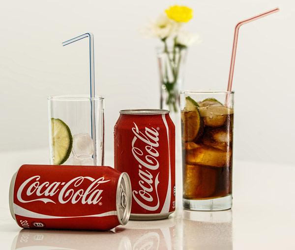 A crisp Coca-Cola
