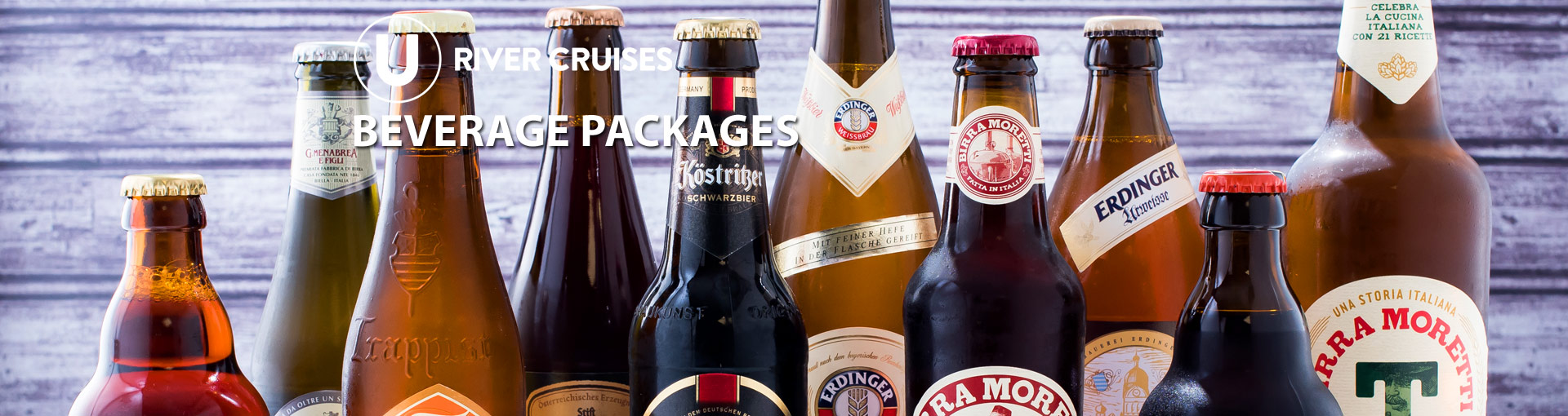 U River Cruises Drink Packages