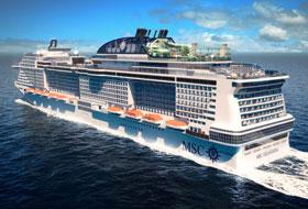 MSC Grandiosa - Courtesy of MSC Cruises