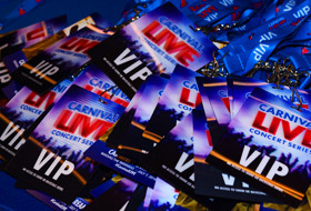 Carnival LIVE Passes - Courtesy of Carnival Cruise Lines