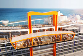 Celebrity Edge Magic Carpet - Courtesy of Celebrity Cruises