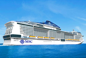 MSC Meraviglia Rendering - Courtesy of MSC Cruises