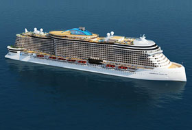 Leonardo Class Rendering - Courtesy of Norwegian Cruise Line
