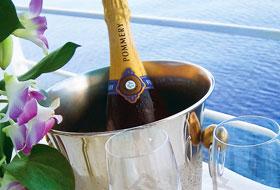 Champagne - Courtesy of Silversea Cruises