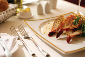 Luxury Cuisine - Courtesy of Silversea Cruises