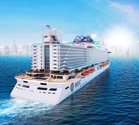 New Cruise Ships for 2018 - MSC Seaview image courtesy of MSC Cruises