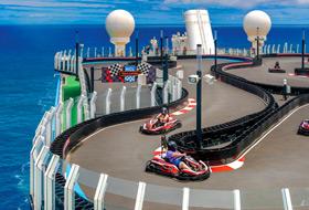 Norwegian Bliss Race Track - Courtesy of Norwegian Cruise Line