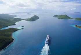 Caribbean Aerial, Courtesy of Celebrity Cruises