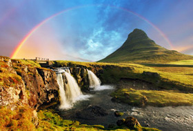 Cruising to Iceland