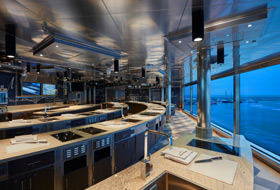 Culinary Kitchen - Courtesy of Regent Seven Seas